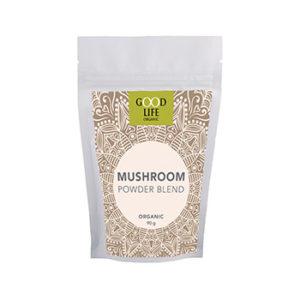 Organic Mushroom Powder Shiitake, Reishi, Coriolus