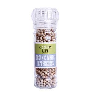 Organic White Peppercorns