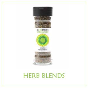 Organic Herb Blends (non-irradiated) - Bottles