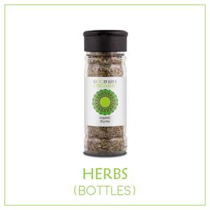 Organic Culinary Herbs (non-irradiated) - Bottles