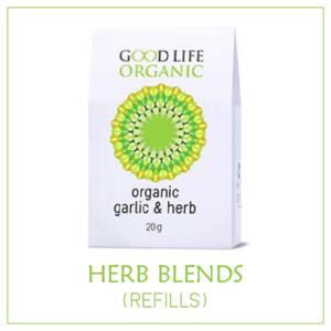 Organic Herb Blends (non-irradiated) - Refills