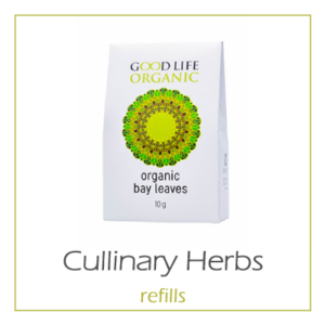 Organic Culinary Herbs (non irradiated) - Refill Cartons