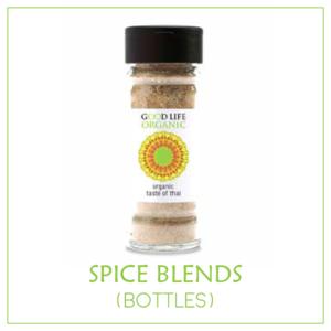 Organic Spice Blends (non-irradiated) - Bottles