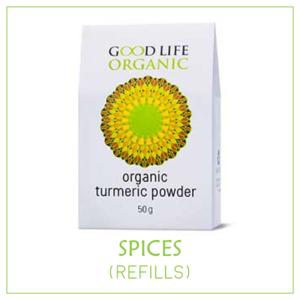 Organic Spices (non-irradiated) - Refills