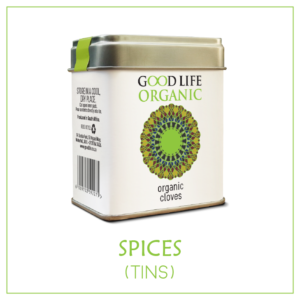 Organic Spices (non-irridated) - Tins